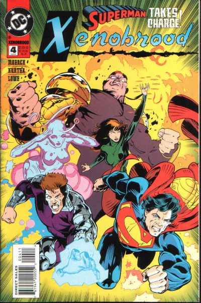 Cover for Xenobrood (DC, 1994 series) #4