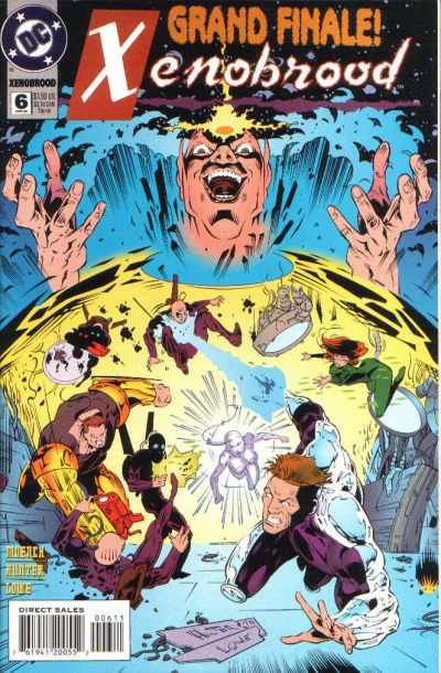 Cover for Xenobrood (DC, 1994 series) #6