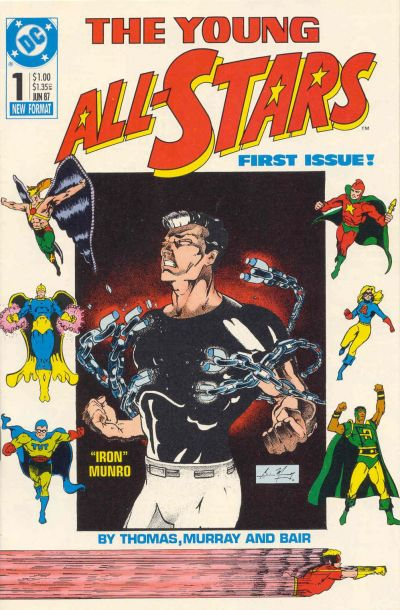 Cover for Young All-Stars (DC, 1987 series) #1