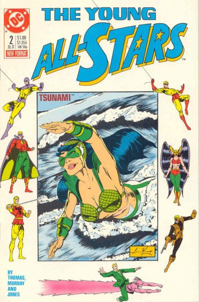 Cover for Young All-Stars (DC, 1987 series) #2