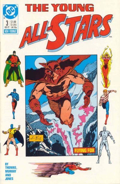 Cover for Young All-Stars (DC, 1987 series) #3