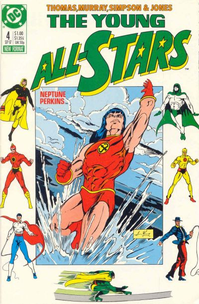 Cover for Young All-Stars (DC, 1987 series) #4