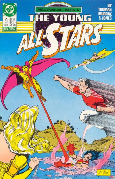 Cover for Young All-Stars (DC, 1987 series) #9