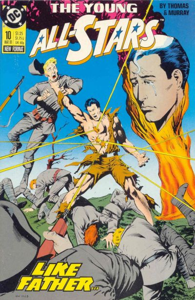 Cover for Young All-Stars (DC, 1987 series) #10
