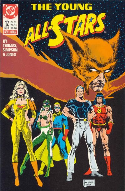 Cover for Young All-Stars (DC, 1987 series) #12