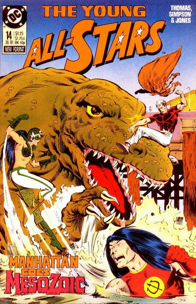 Cover for Young All-Stars (DC, 1987 series) #14