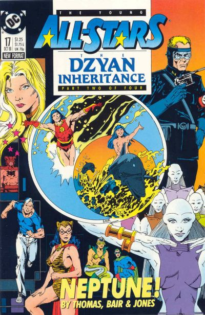 Cover for Young All-Stars (DC, 1987 series) #17