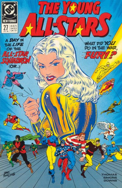 Cover for Young All-Stars (DC, 1987 series) #27