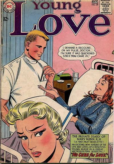 Cover for Young Love (DC, 1963 series) #39