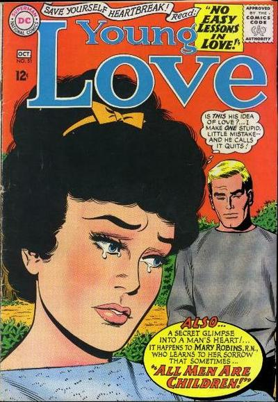 Cover for Young Love (DC, 1963 series) #51