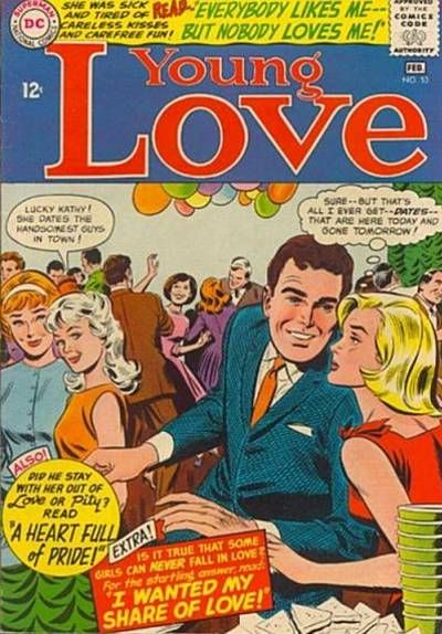 Cover for Young Love (DC, 1963 series) #53