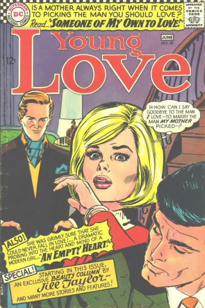 Cover for Young Love (DC, 1963 series) #55