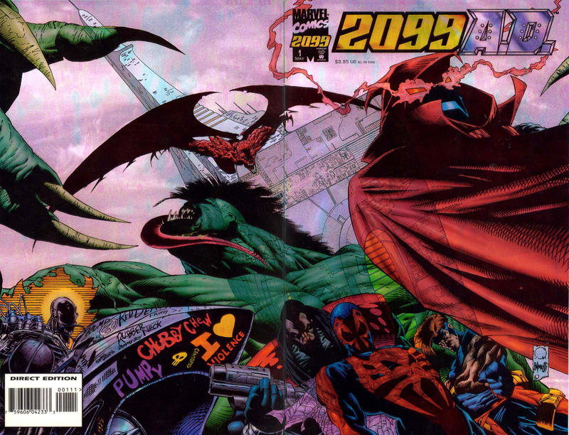 Cover for 2099 A.D. (Marvel, 1995 series) #1