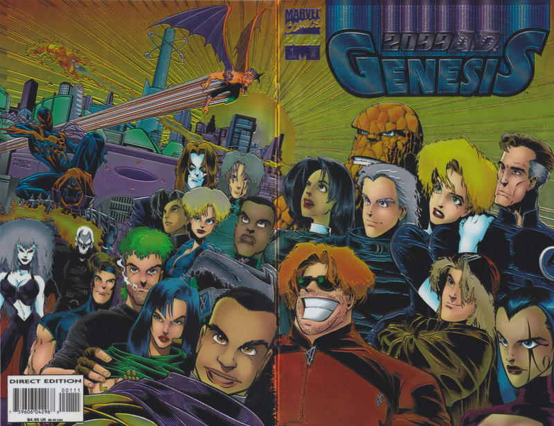 Cover for 2099 A.D. Genesis (Marvel, 1996 series) #1