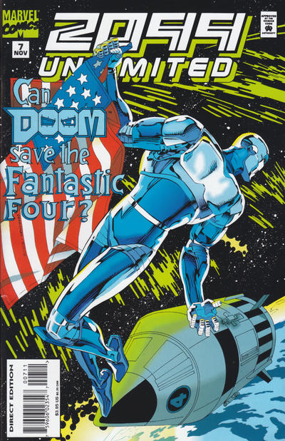 Cover for 2099 Unlimited (Marvel, 1993 series) #7