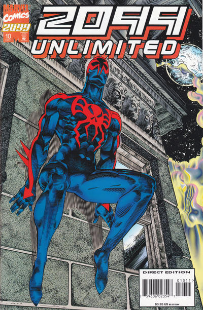 Cover for 2099 Unlimited (Marvel, 1993 series) #10