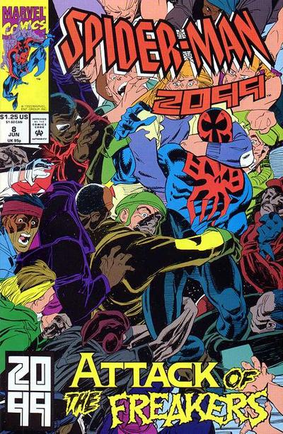 Cover for Spider-Man 2099 (Marvel, 1992 series) #8