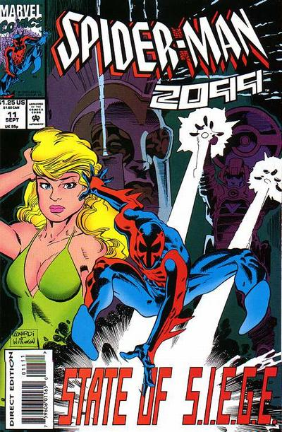 Cover for Spider-Man 2099 (Marvel, 1992 series) #11