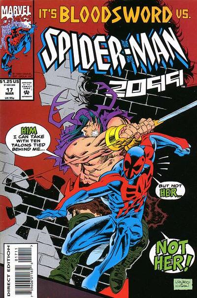 Cover for Spider-Man 2099 (Marvel, 1992 series) #17