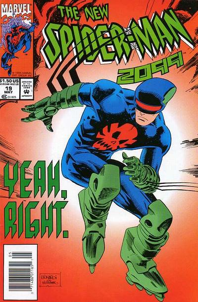 Cover for Spider-Man 2099 (Marvel, 1992 series) #19