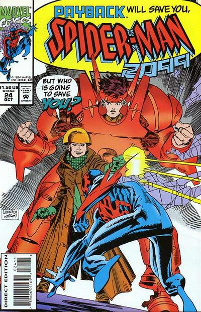Cover for Spider-Man 2099 (Marvel, 1992 series) #24