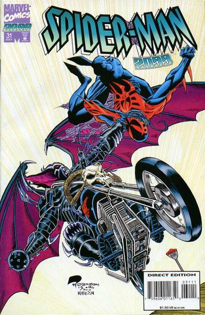 Cover for Spider-Man 2099 (Marvel, 1992 series) #31 [Newsstand]