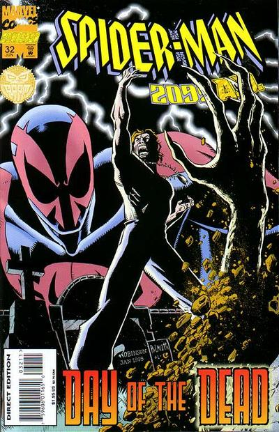 Cover for Spider-Man 2099 (Marvel, 1992 series) #32