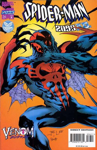 Cover for Spider-Man 2099 (Marvel, 1992 series) #36