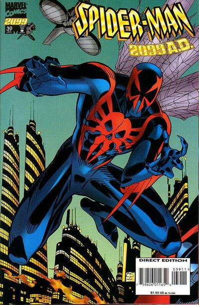 Cover for Spider-Man 2099 (Marvel, 1992 series) #39