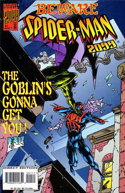 Cover for Spider-Man 2099 (Marvel, 1992 series) #41