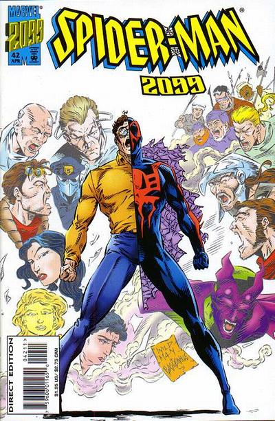 Cover for Spider-Man 2099 (Marvel, 1992 series) #42