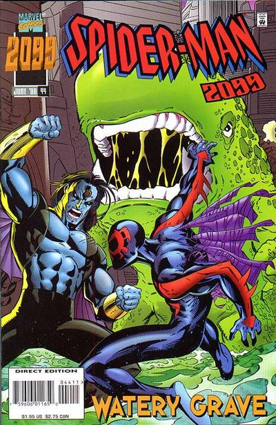 Cover for Spider-Man 2099 (Marvel, 1992 series) #44