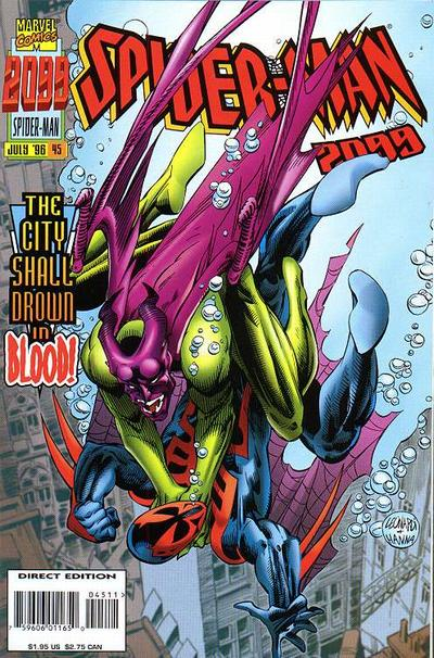 Cover for Spider-Man 2099 (Marvel, 1992 series) #45