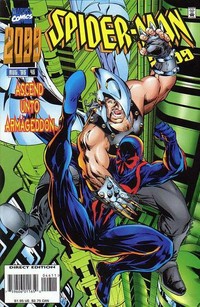 Cover for Spider-Man 2099 (Marvel, 1992 series) #46