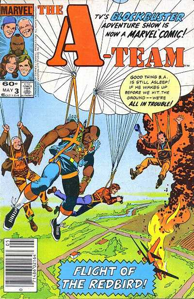 Cover for The A-Team (Marvel, 1984 series) #3 [Direct Edition]