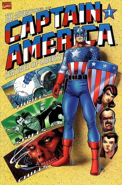 Cover for The Adventures of Captain America (Marvel, 1991 series) #1