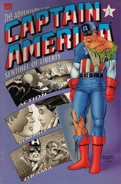 Cover for The Adventures of Captain America (Marvel, 1991 series) #3