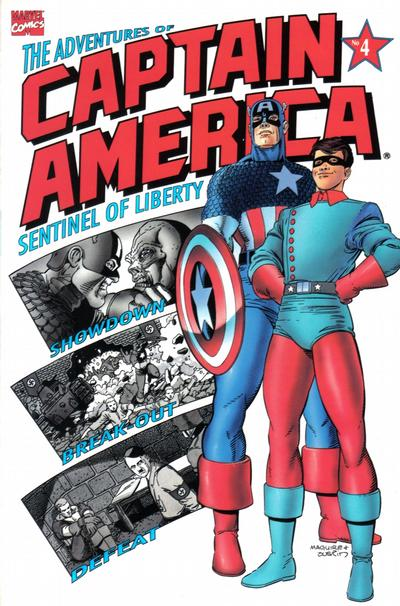 Cover for The Adventures of Captain America (Marvel, 1991 series) #4