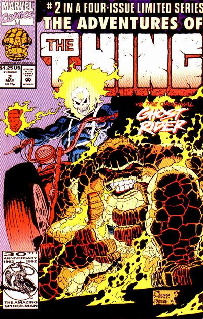 Cover for The Adventures of the Thing (Marvel, 1992 series) #2