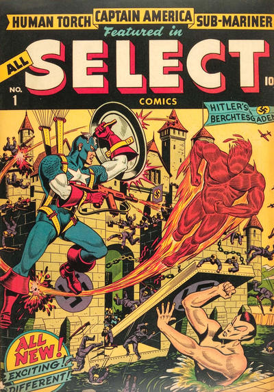Cover for All Select Comics (Marvel, 1943 series) #1