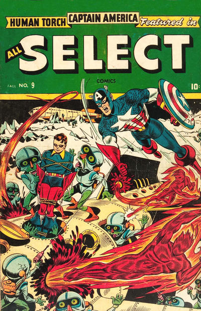 Cover for All Select Comics (Marvel, 1943 series) #9