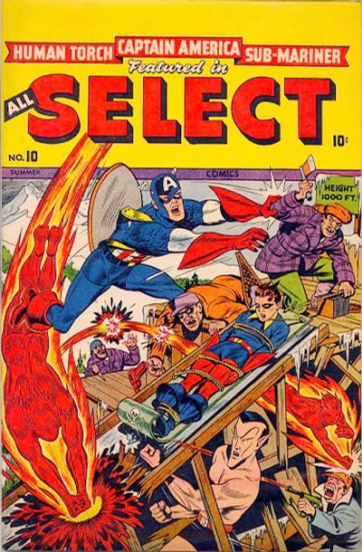 Cover for All Select Comics (Marvel, 1943 series) #10