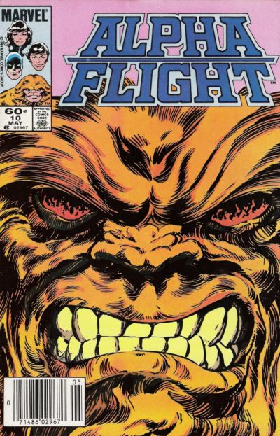 Cover for Alpha Flight (Marvel, 1983 series) #10 [Newsstand]