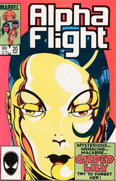 Cover for Alpha Flight (Marvel, 1983 series) #20 [Newsstand Edition]