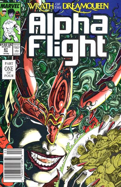 Cover for Alpha Flight (Marvel, 1983 series) #67