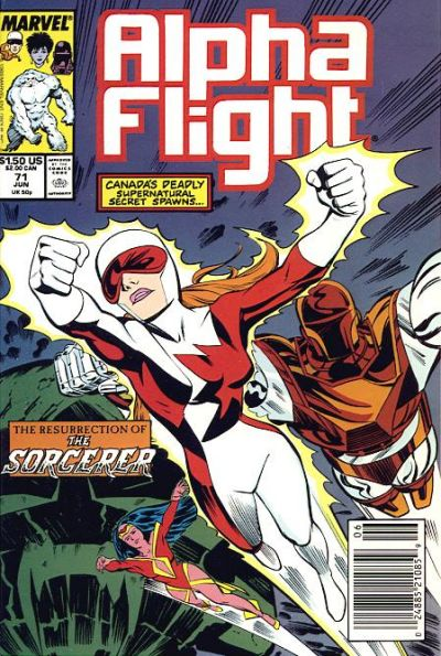 Cover for Alpha Flight (Marvel, 1983 series) #71