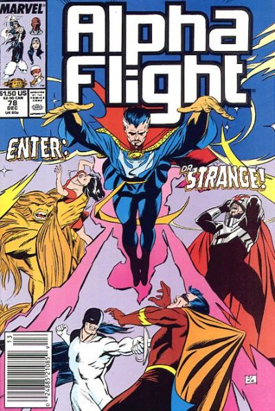 Cover for Alpha Flight (Marvel, 1983 series) #78