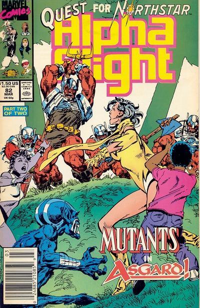 Cover for Alpha Flight (Marvel, 1983 series) #82