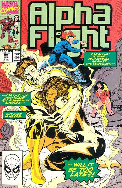 Cover for Alpha Flight (Marvel, 1983 series) #85