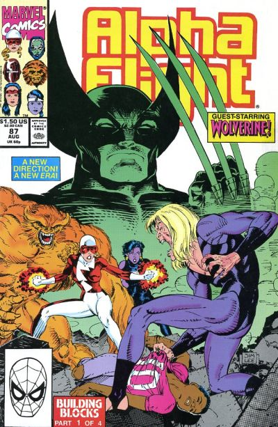 Cover for Alpha Flight (Marvel, 1983 series) #87